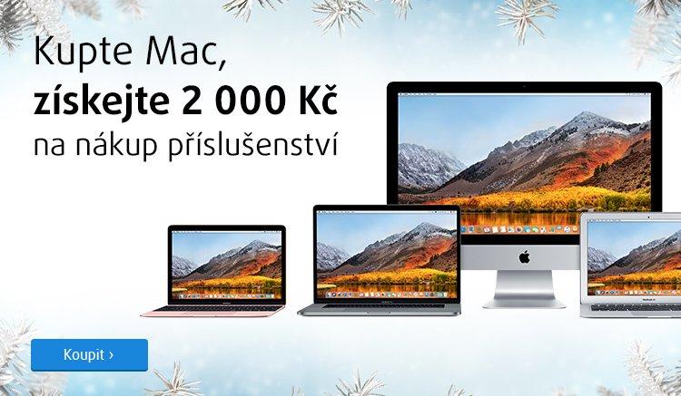 Získejte 2 000 Kč na příslušenství k Macu