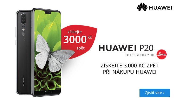 Huawei cashback 3000 Kč