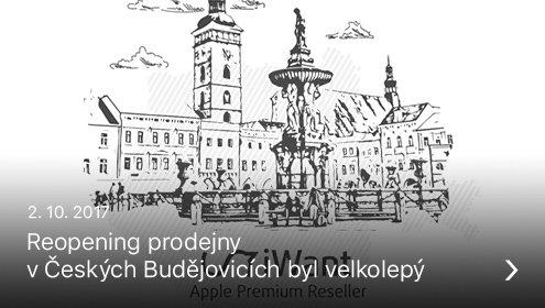 Reopening České Budějovice