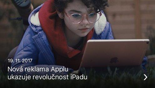 iPad reklama