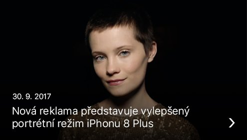 iPhone 8 reklama
