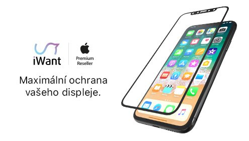 3D skla iPhone X