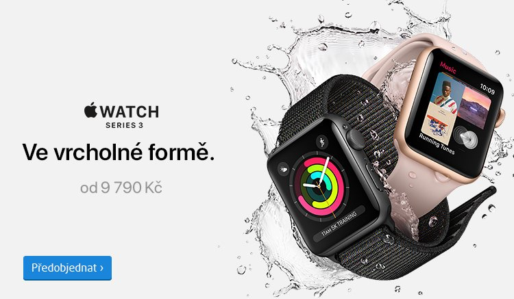 předobjednávky Apple Watch Series 3