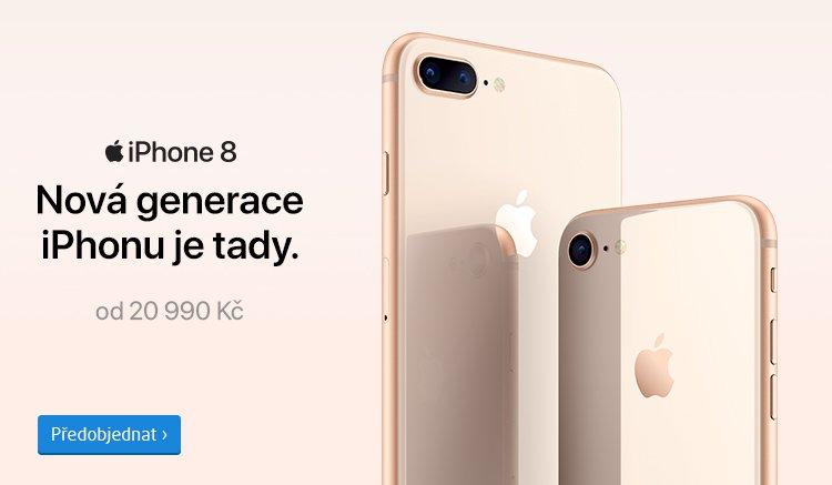 předobjednávky iPhone 8 a iPhone 8 Plus
