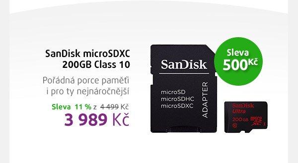 SanDisk microSDxc 200 GB Class 10
