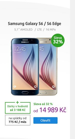 Smartphone Samsung Galaxy S6 64GB / 128 GB