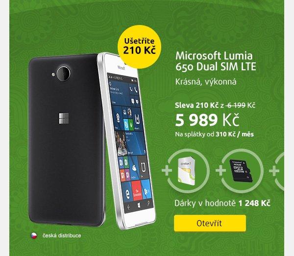 Smartphone Microsoft Lumia 650 Dual SIM LTE