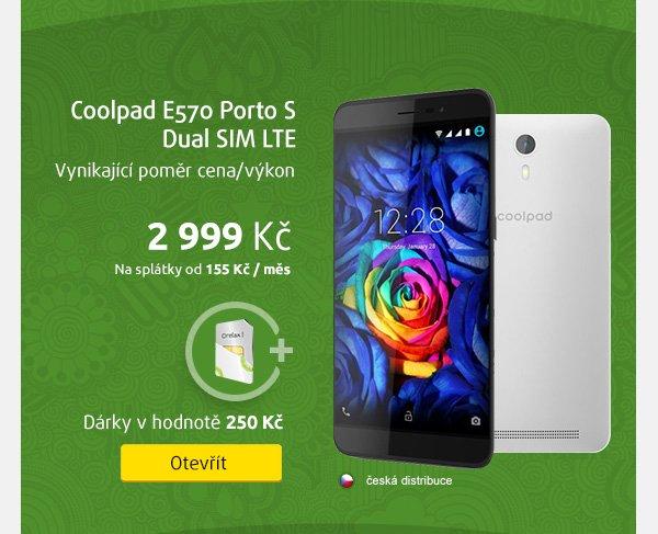 Smartphone Coolpad E570 Porto S Dual SIM LTE