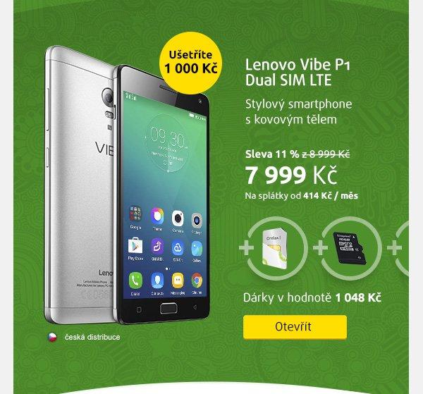 Smartphone Lenovo Vibe P1 Dual SIM LTE