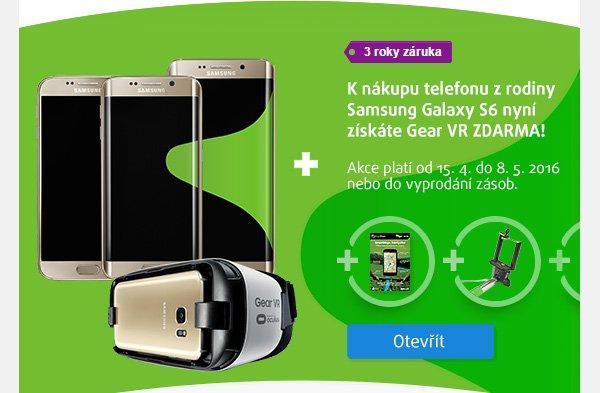 K Samsung Galaxy S6 virtuální realita ZDARMA