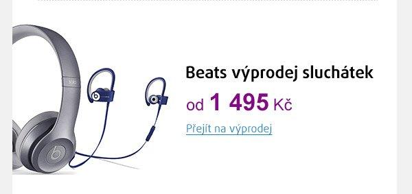 Výprodej sluchátek BEATS